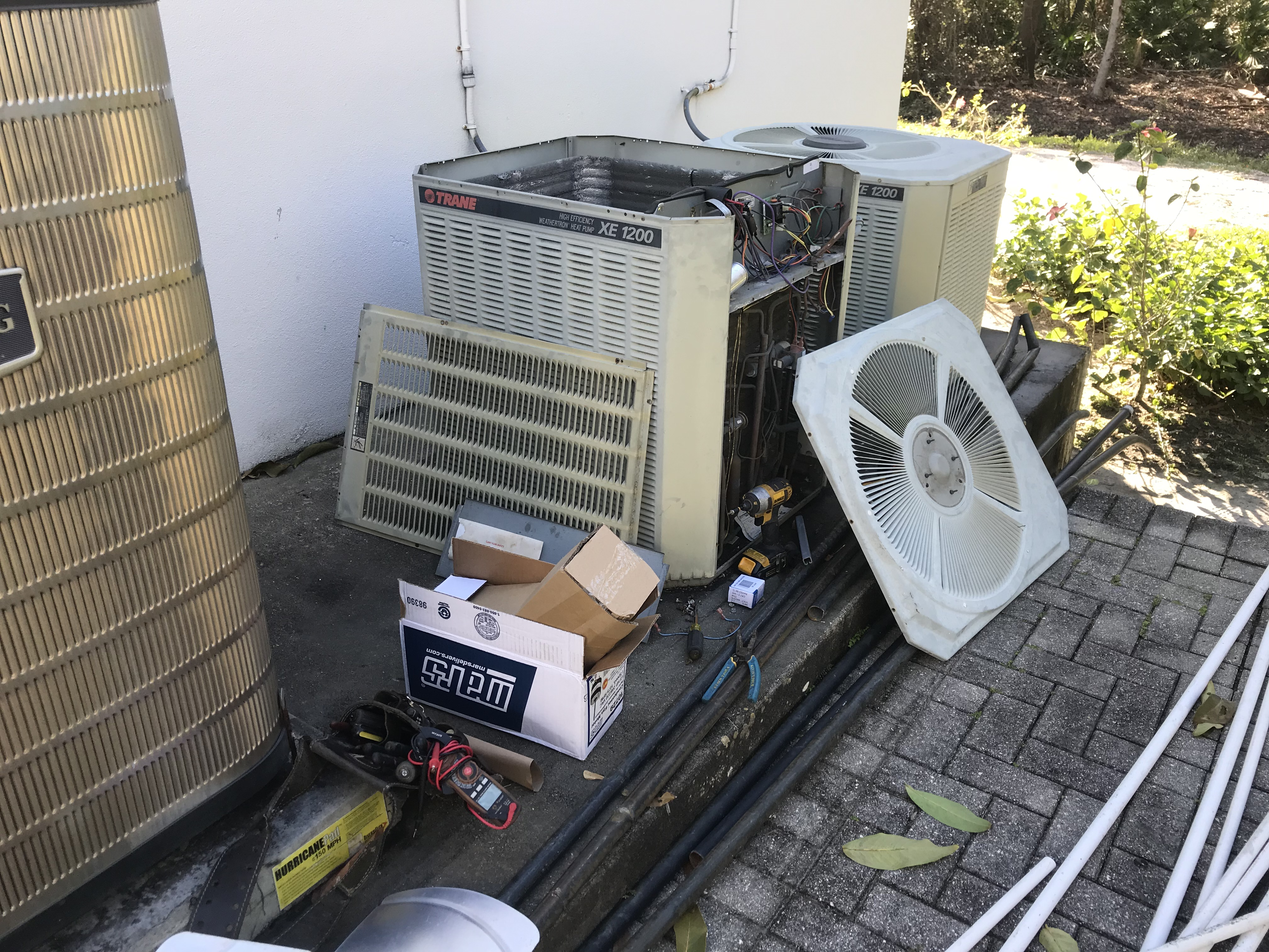 condenser fan motor replacement