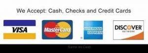 visa mastercard discover american express