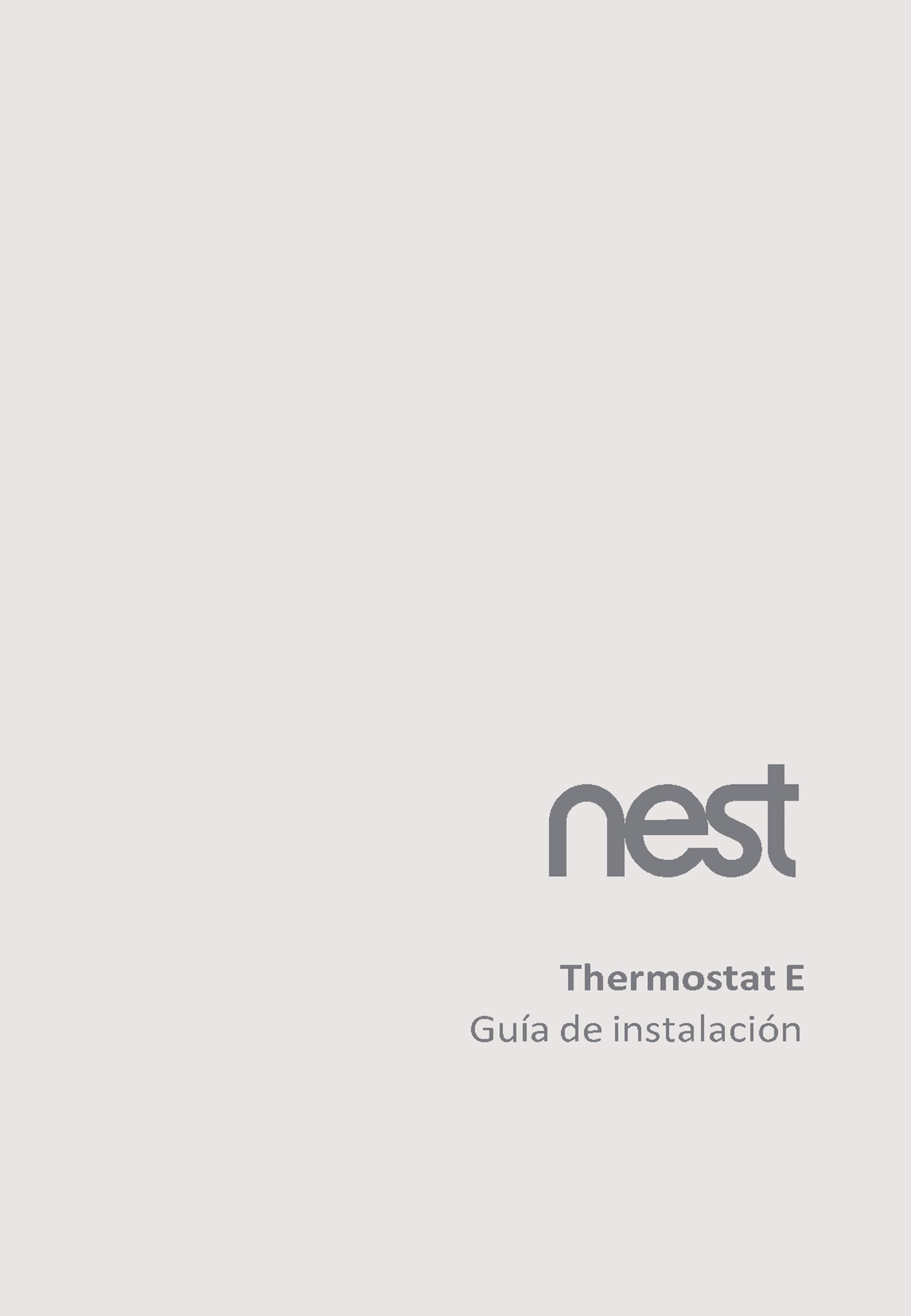 Nest Termostato E